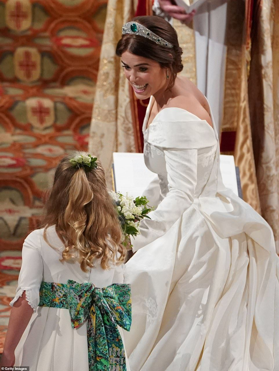 Beautiful bride Princess Eugenie marries Jack Brooksbank