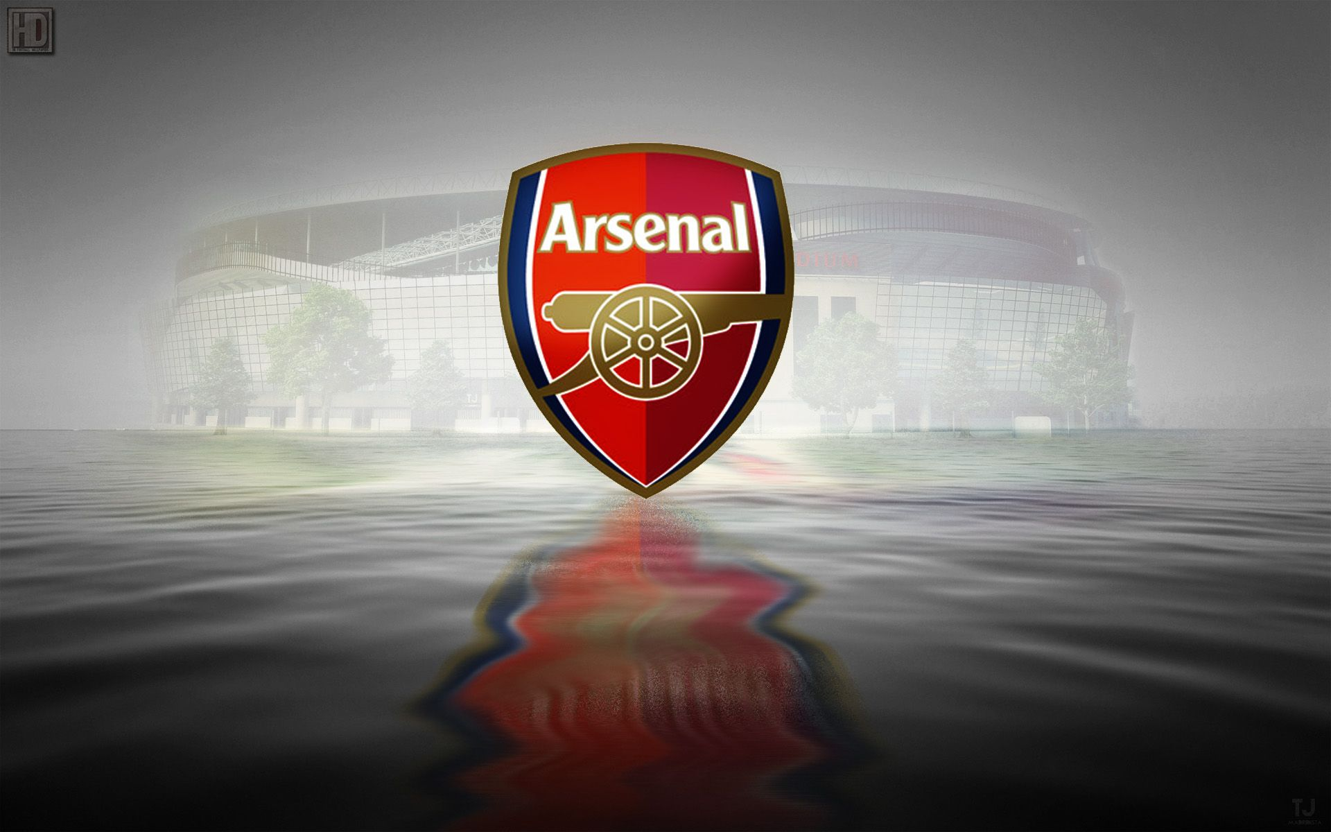 HQ Wallpapers Plus provides different size of Arsenal Fc