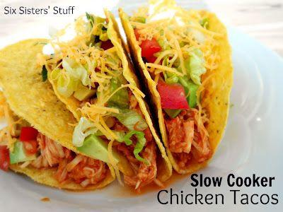 3 Ingredient Slow Cooker Tacos