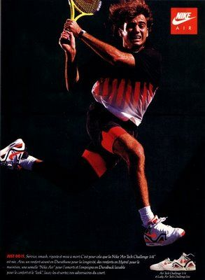 wielka wyprzedaż uk kupować nowe San Francisco Andre Agassi   Nike ad, Nike poster, Nike tennis