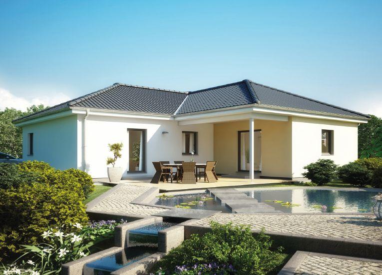 Prefabricated house Bungalow 113 Дом, Крыша, Проекты
