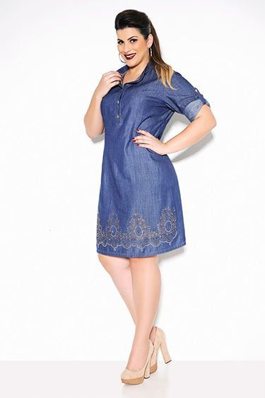 Cool Casual Clothes For Women vestido plus size jeans 3... Check more at 90b727d33053