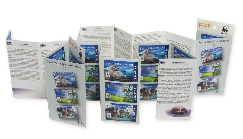 Postin verkkokauppa Kotimaahan Uhanalaisia eläimiä I - 30kpl 1.luokan merkkejä