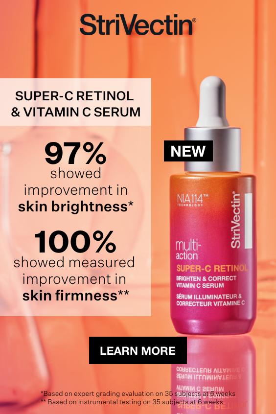 Super C Retinol Brighten Correct Vitamin C Serum Strivectin Eye Skin Care Serum