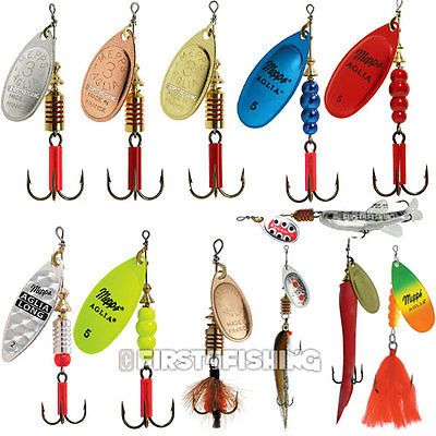 Mepps Comet Spinners Sea Trout Pike Perch Salmon Bass Fishing Lures Tackle
