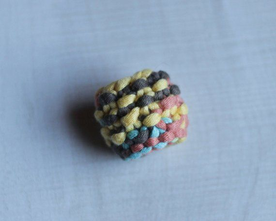 Knit Sunset Wonderland Ring Perfect Gift For Her Cute