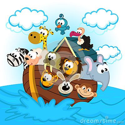Noah Ark Cartoon Stock Photos Images Amp Pictures 67