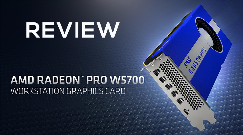 Review Amd Radeon Pro W5700 Professional Graphics Card Graphic Card Cards Amd