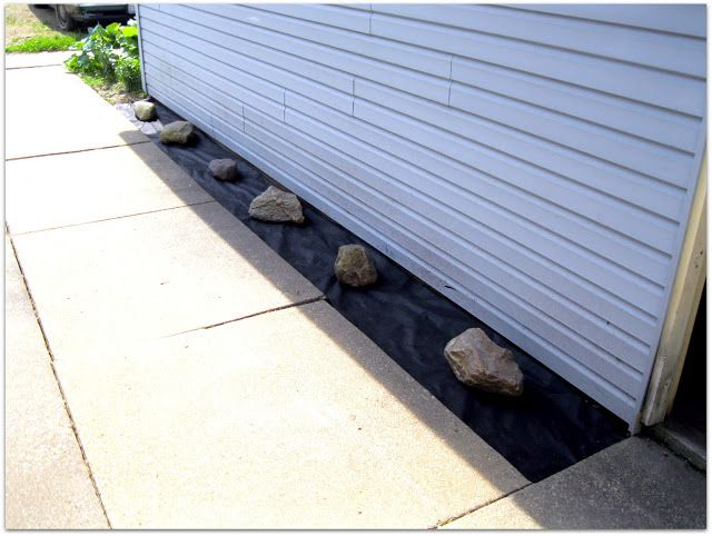 Need to do this to the front garden bed, instead of mulch using ...