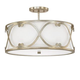 Capital lighting donny osmond alexander collection 3 light winter shop for capital lighting donny osmond alexander collection 3 light winter gold semi flushmount mozeypictures Image collections