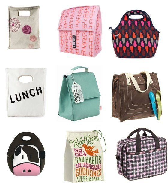 Cute lunch bags to bring to work! | Office Products | Pinterest ...