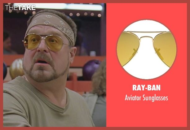 088fa45a55 John Goodman Ray-Ban Aviator Sunglasses from The Big Lebowski ...