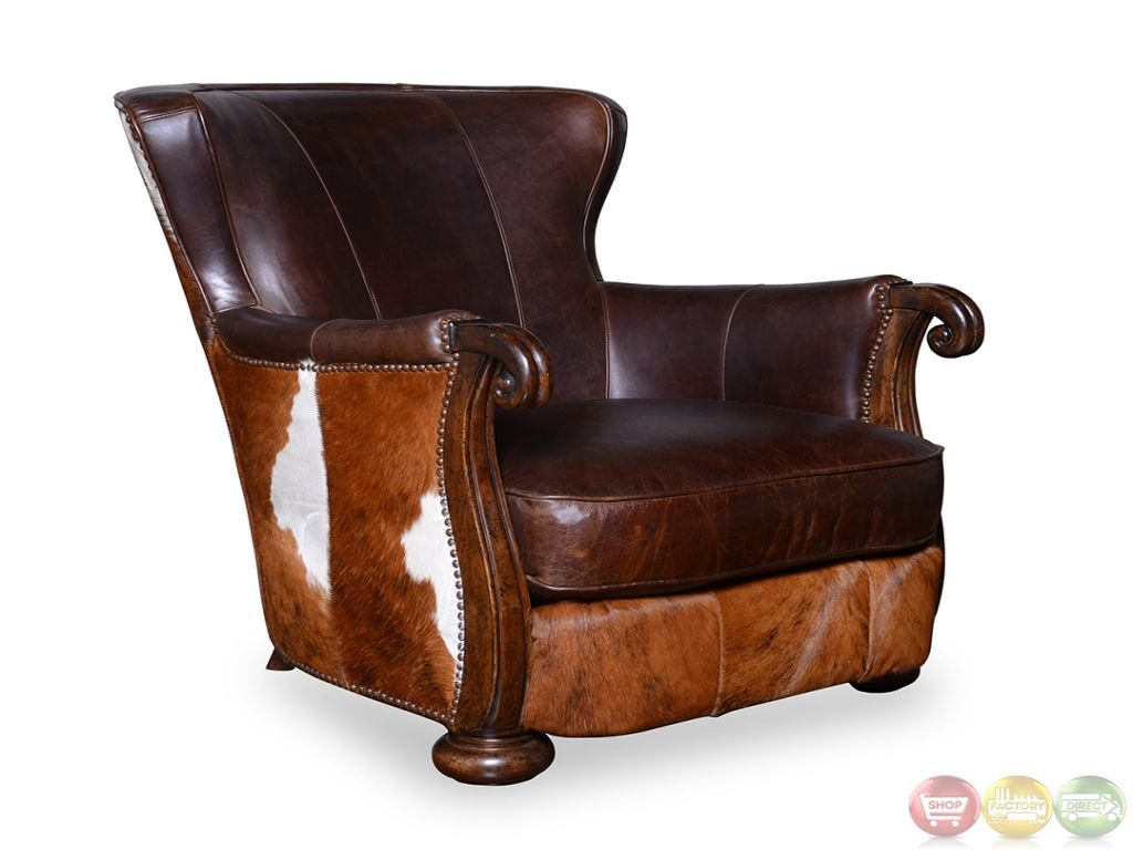 Walnut Chair, Cowhide Leather Wholesale Leather Cow Hide Accent .