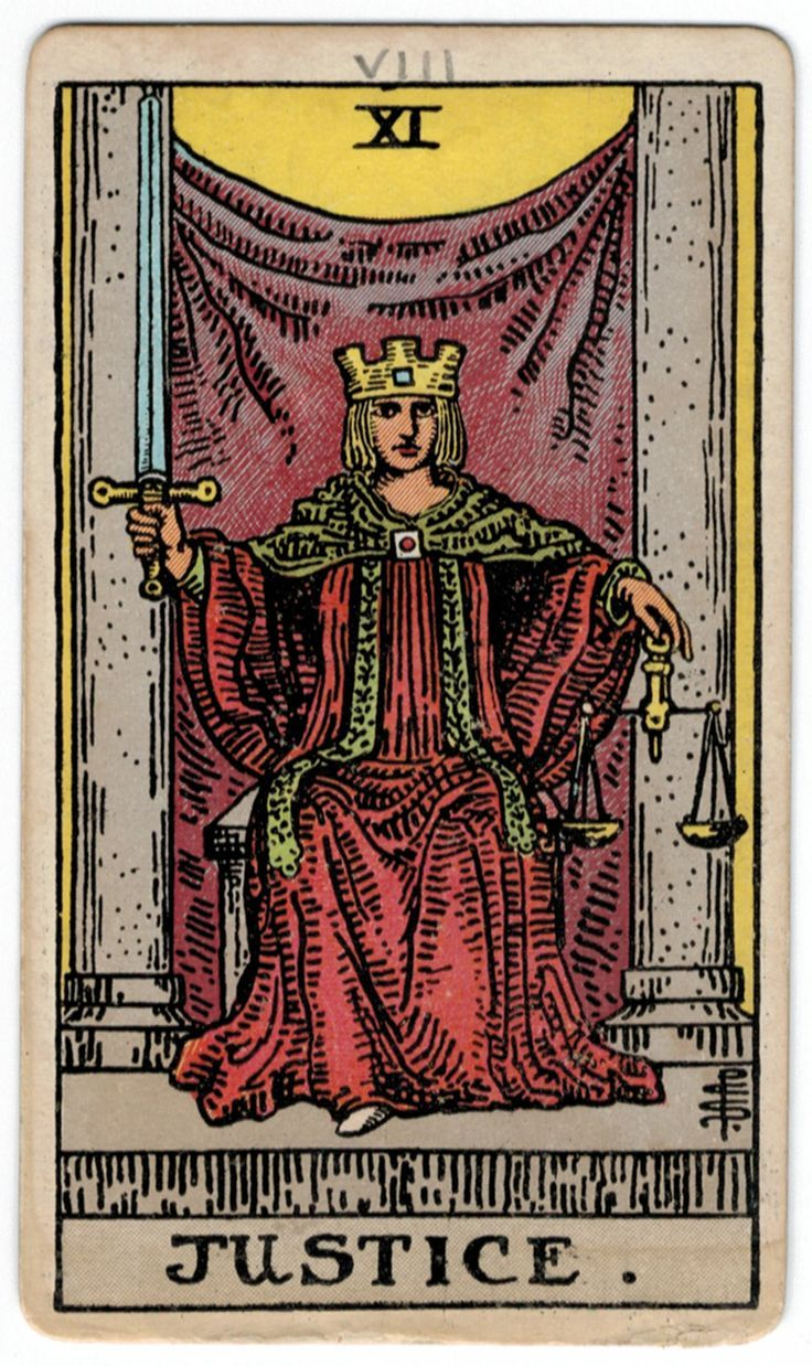 Justice tarot card meaning in 2020 justice tarot