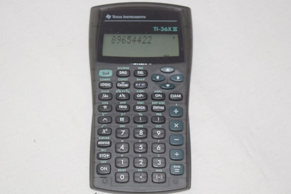 Texas Instruments Ti 36x Ii Scientific Engineering Calculator Cover Reset Texasinstruments Scientific Calculators Calculator Graphing Calculator