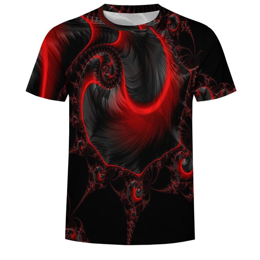 Mens 3D Printed Funny Round Neck Short Sleeves Fashion T Shirt Tee Blouse Athletic Garments Casual Clothes