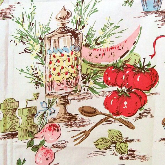Vintage Kitchen Fabric Best Decoration