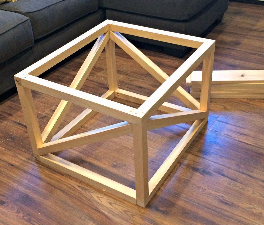 Inexpensive DIY Coffee Table
