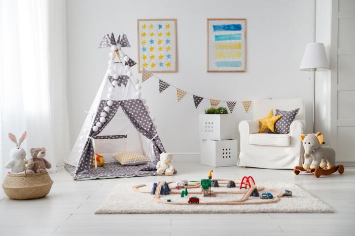 1001 + Ideen für eine schöne Kinderzimmer Deko! Toddler