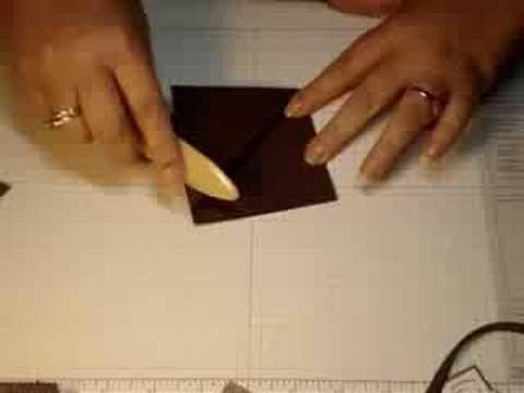 how to make a triangle tri fold greeting card tri fold cards tri