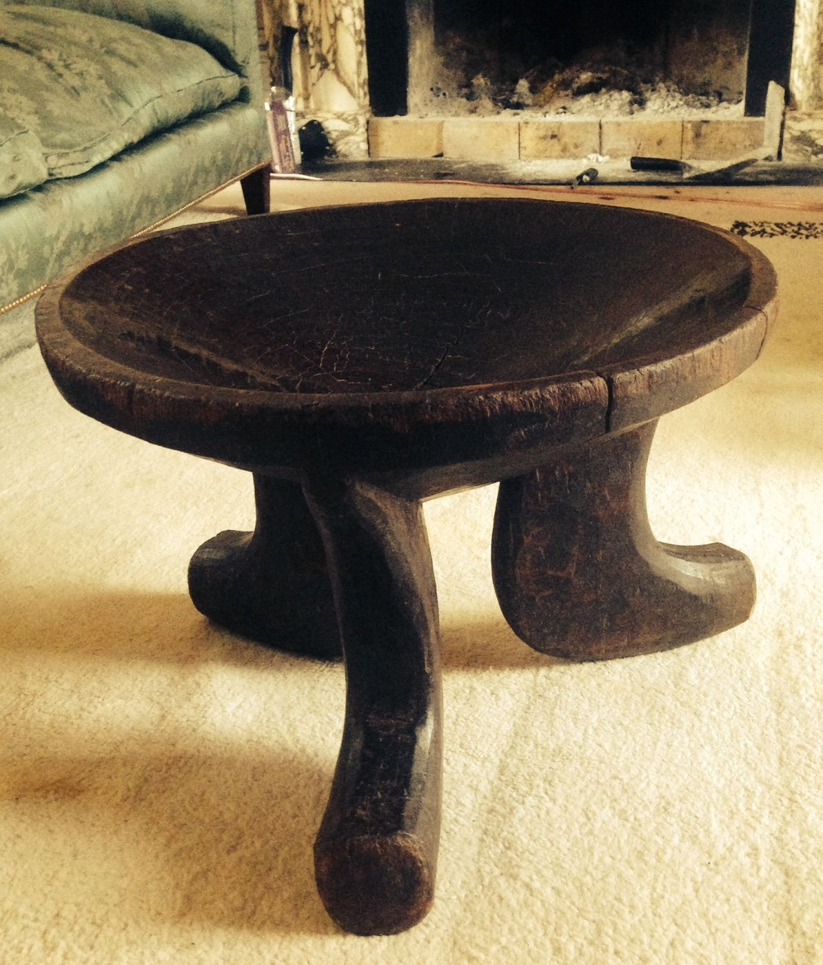 Large ethiopian stool in excellent condition antiques pinterest