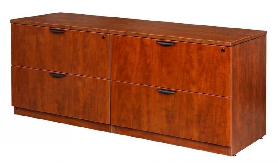 Double Lateral Office Credenza File Cabinet Filing Cabinet