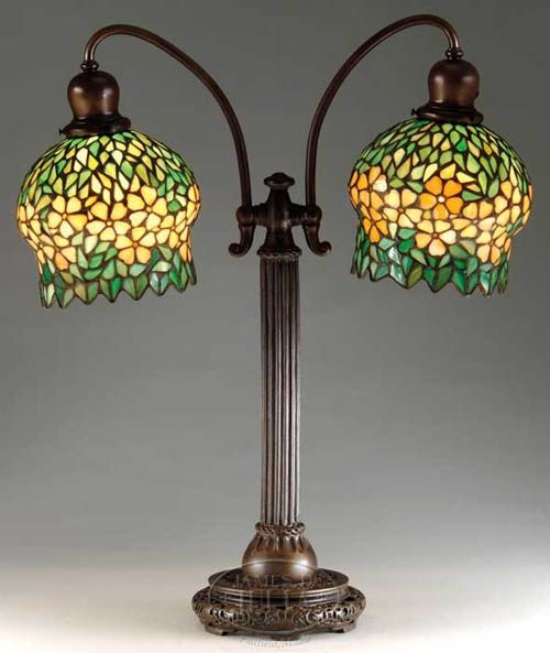 Handel Double Student Lamp In 2019 Tiffany Lamps