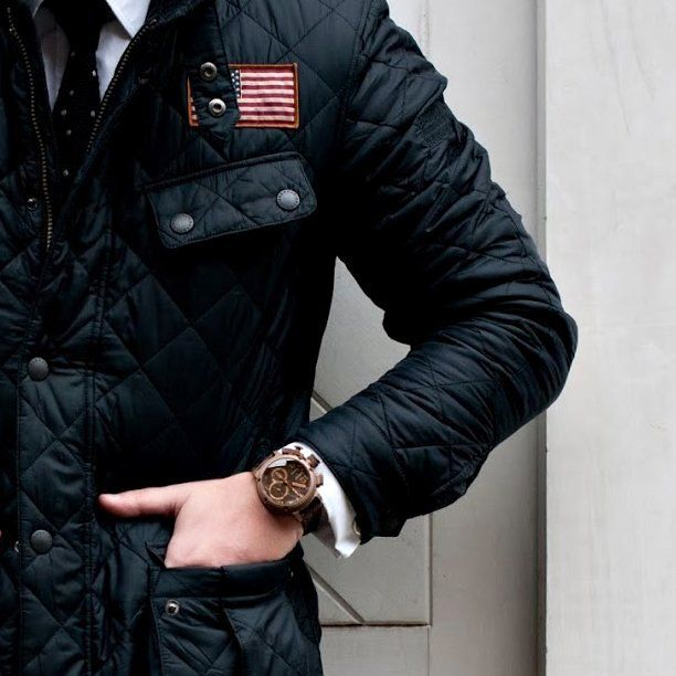 Jeffries Quilted Jacket by Barbour x Steve McQueen | Man ... : steve mcqueen quilted jacket - Adamdwight.com