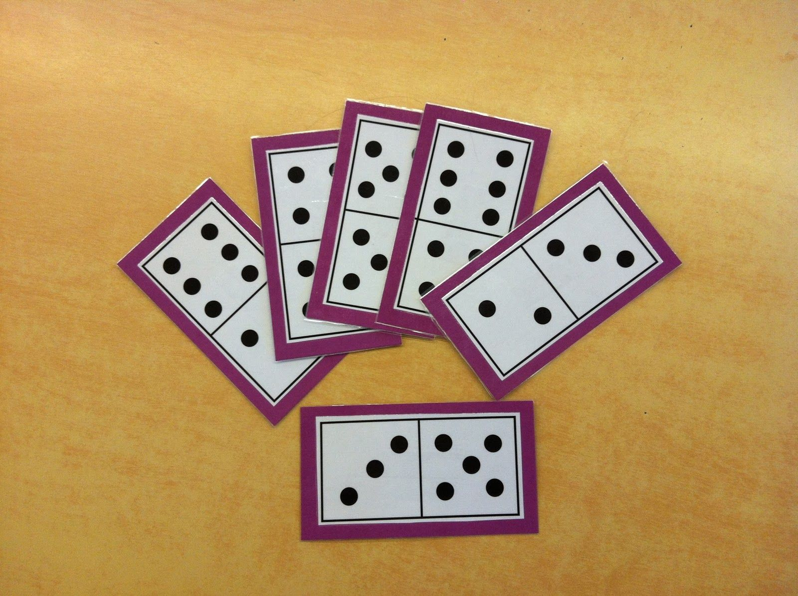 Mrs. Byrd's Learning Tree: Domino Math Games