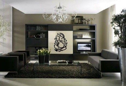 Lord Ganesh Vinyl Wall DECAL Hindi Hindu India By EyvalDecal Room Decorating IdeasInterior