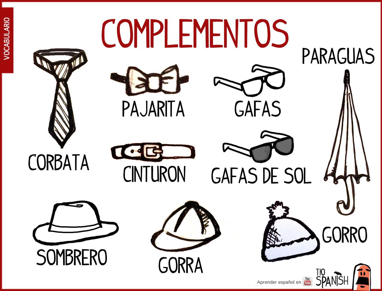 Vocabulario Ropa En Espanol
