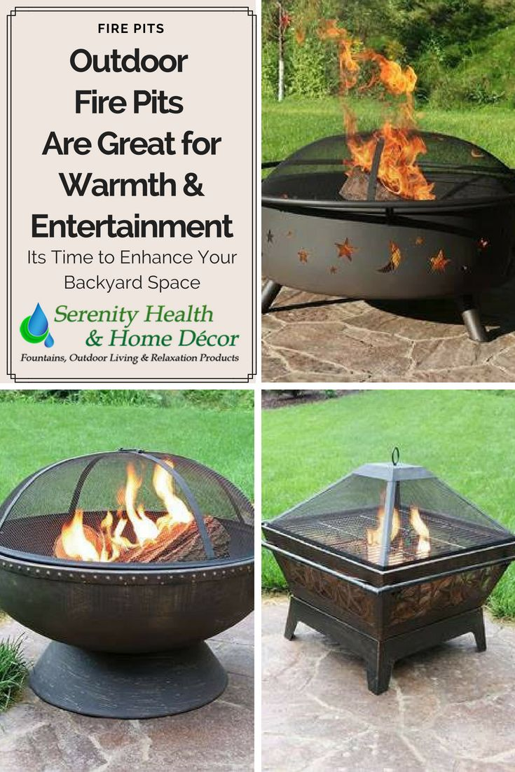 Serenity Health And Home Decor.Pick Out The Perfect Outdoor Fire Pit For Your Unique Space