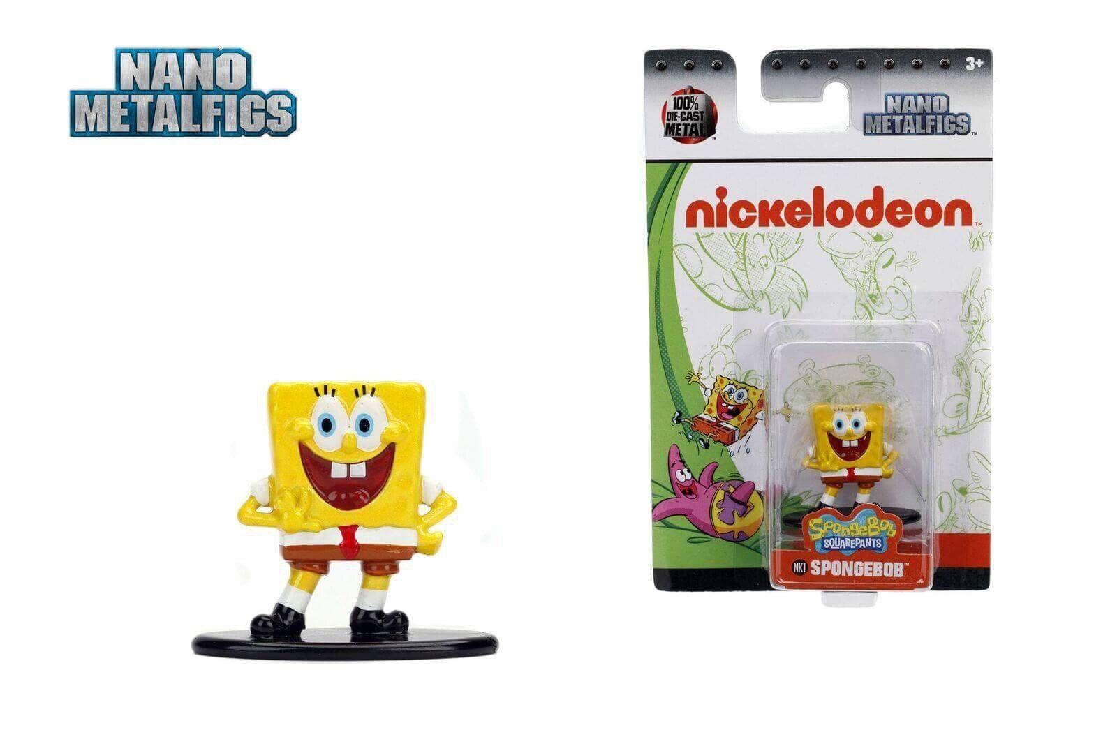 Jada Toys Nickelodeon Spongebob Squarepants - Spongebob (NK1) Nano ...