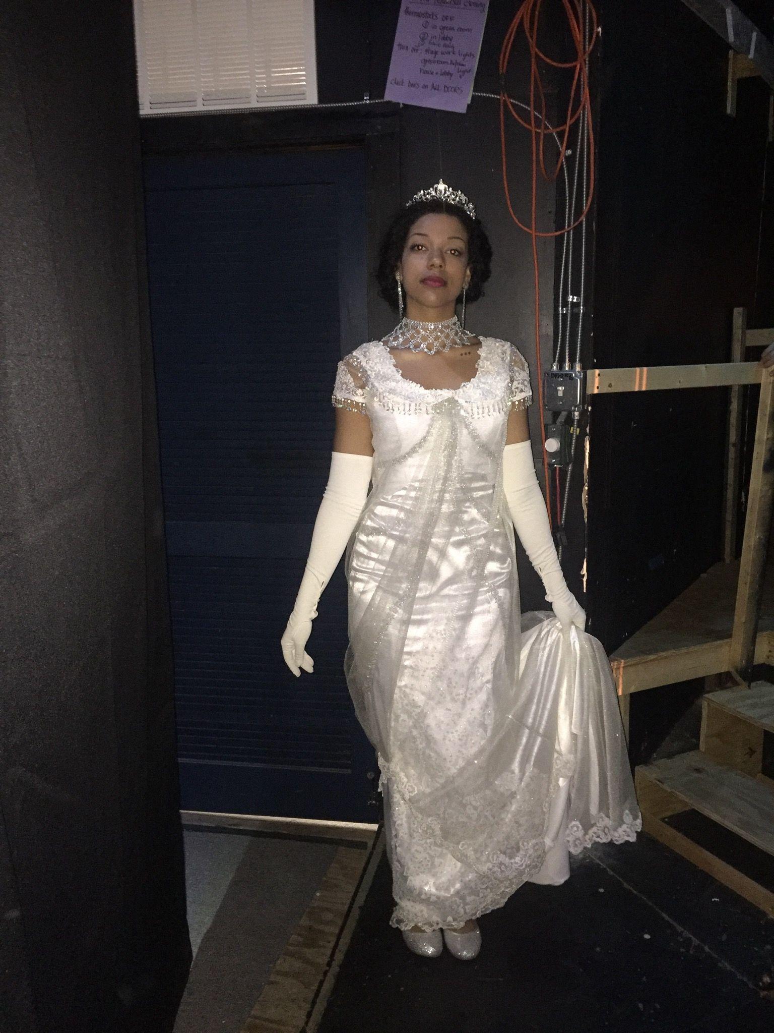 My Fair Lady, June 2016. Jessica Mainor as Eliza Doolittle Ballroom ...