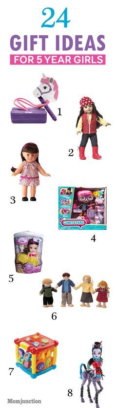 24 Best Gift Ideas For 5 Year Old Girls