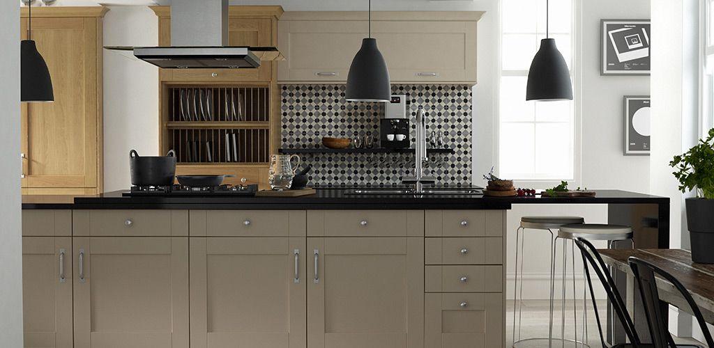 Shaker Kitchen in Oak and Mink Matt From Wren Kitchen Steve choice ...