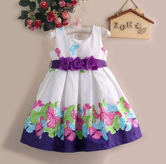 6pcs-lot-baby-girls-flower-dress-sleeveless-princess-dress ...
