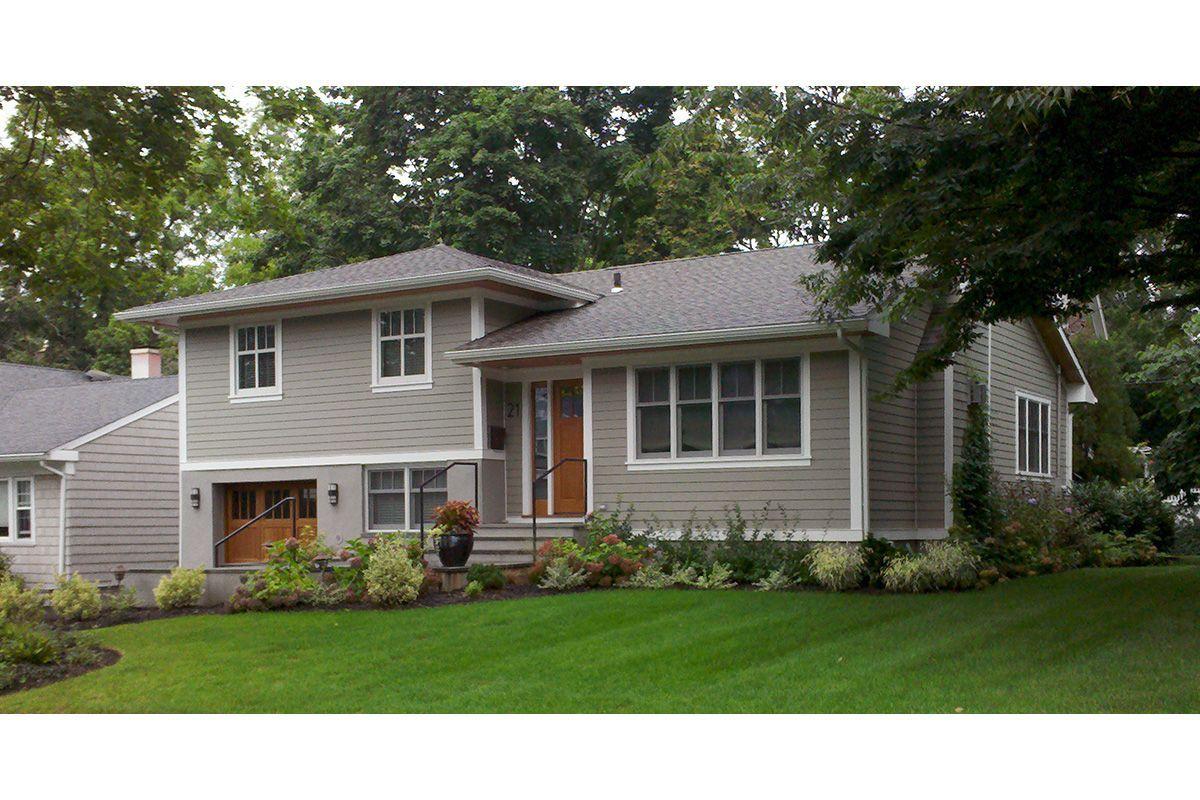 Image Result For Split Level Home Exterior Colors House Exterior Color Schemes House Paint Exterior House Exterior