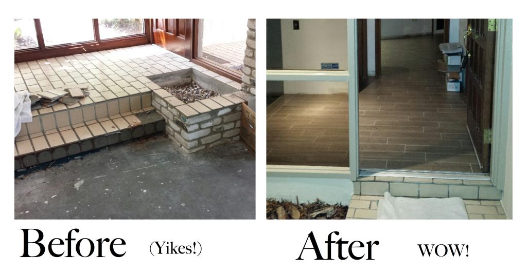 Bk Service Pro Beautiful Tile Floor Installation In Tampa Fl Bk Service Pro Beautiful Tile Floor Beautiful Tile Floor Installation