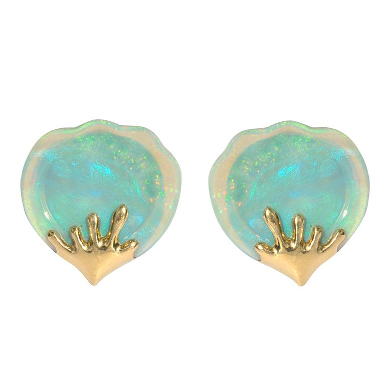Tiffany Co Opal Earrings She S Never Been Willing To Wear Her Birthstone Wonder If These Would Change Mind