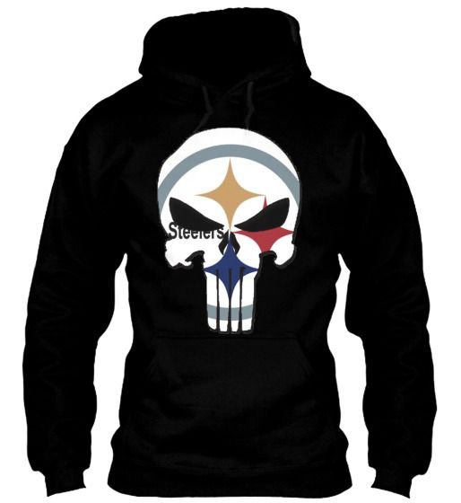 3f43d1882 STEELER PUNISHER HOODIE for  39.99  onselz