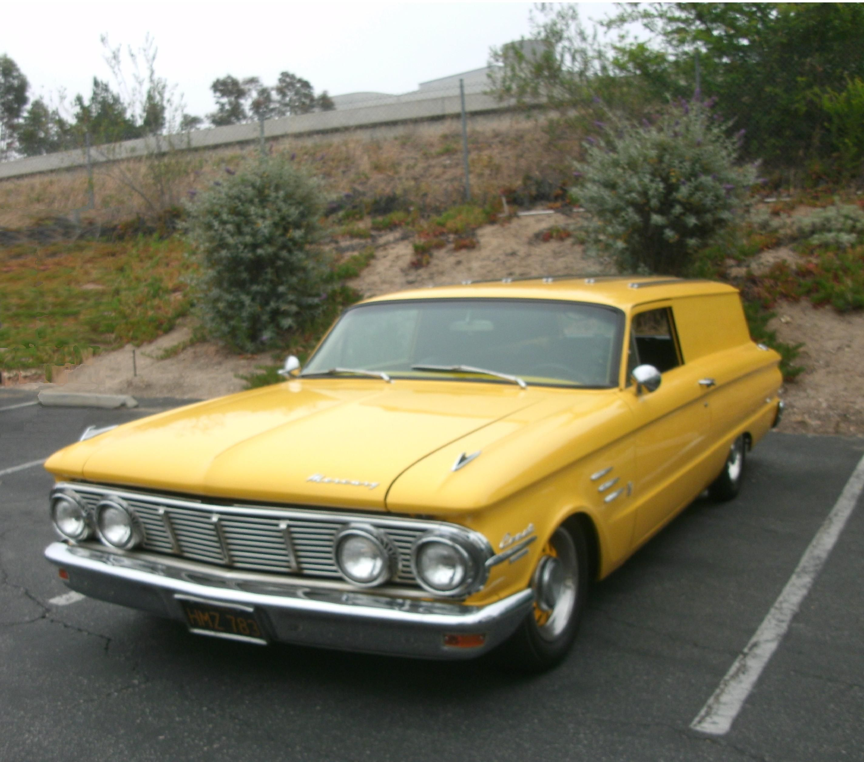 1963 Mercury Comet Sedan Delivery.