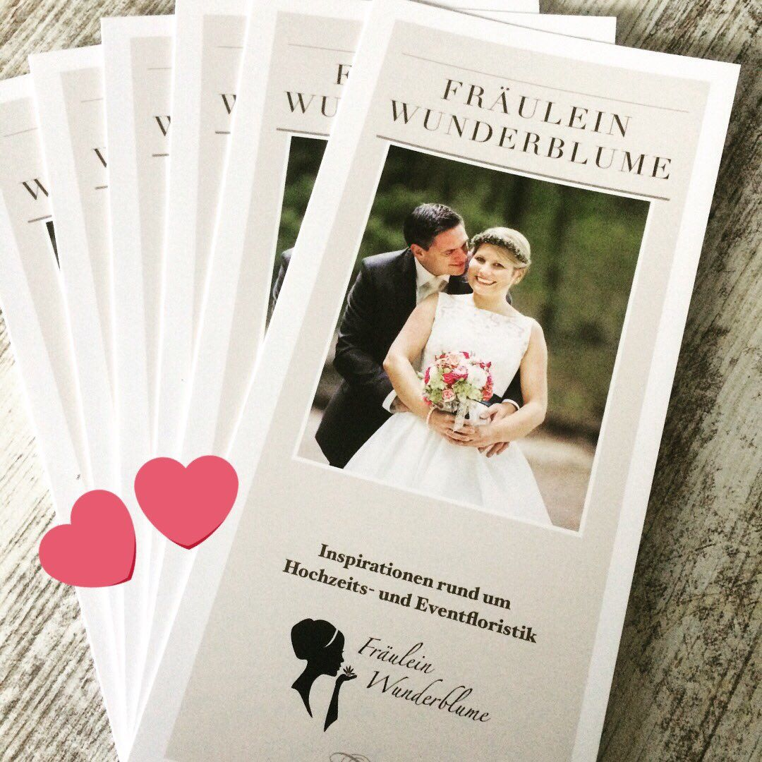 Mein Flyer Zum Thema Hochzeiten Ist So Wunderschon Geworden Alles Selbst Gestaltet Und Umgesetzt Diy Marketing Fur Fraulein Wu Blumenladen Hochzeit Florist