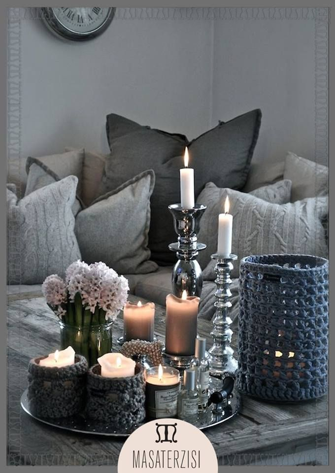 Awesome Silver Coffee Table Decor