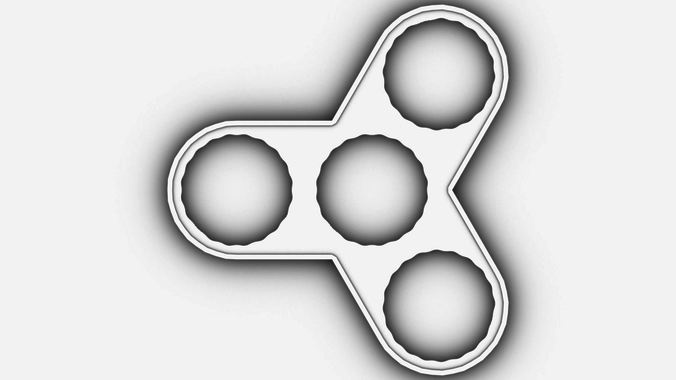 Fidget Spinner Printable Template