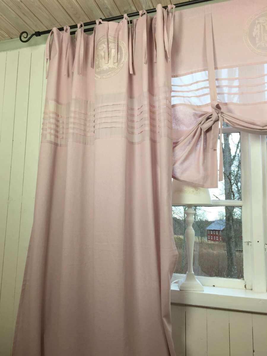Vorhang Mathilde Mauve Altrosa Gardine 120x240 Cm 2 Stuck Gardine Gardineschals Store Landhaus Gardinen Vorhange Altrosa