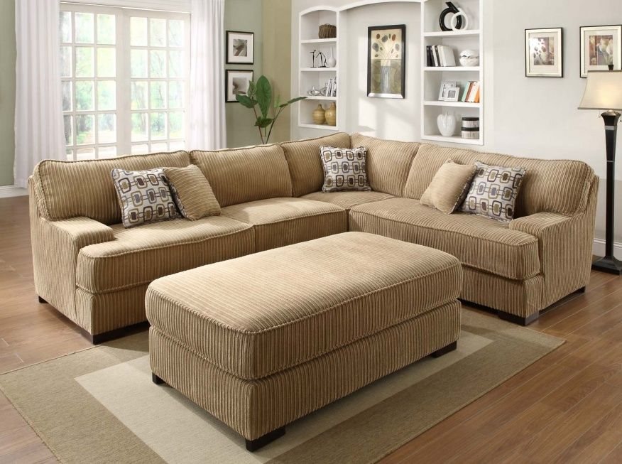 Wide Wale Corduroy Sofa Couch