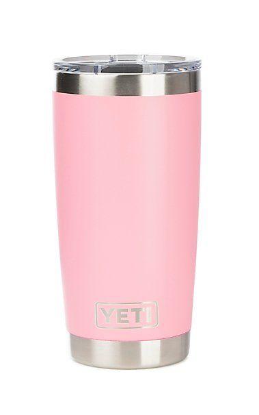 d28c89f4e1f YETI 20 oz Pink Rambler Tumber with Magslider Lid | want | Yeti 20 ...