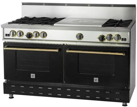 60 inch Residential Nova Burner with French Top from BlueStar ...