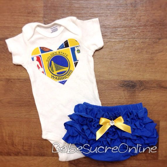 new products 87e6e 07d12 Golden State Warriors Girls Outfit | Baby Coming April 2017 ...
